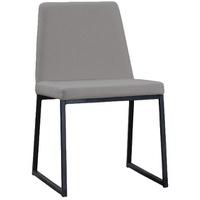 Cadeira Daf Yanka Linho Cinza - Incasa Móveis