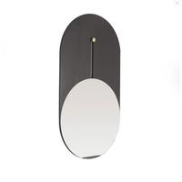 Espelho Oblongo Preto e Dourado Itamoveis - Jabu Elétrica, Hidráulica e Iluminação