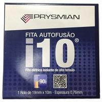 Fita Isolante 19mm x 10m Autofusão I10 Prysmian - Jabu Elétrica, Hidráulica e Iluminação