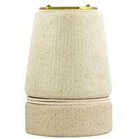 Porta Lâmpada em Porcelana E 27 40.03 Fox Lux - Jabu Elétrica, Hidráulica e Iluminação