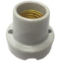 Porta Lâmpada em Porcelana E 27 40.06 Fox Lux - Jabu Elétrica, Hidráulica e Iluminação