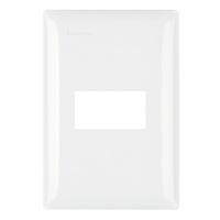 Placa 4x2 para 1 Módulo M5P1 Thesi UP Bticino Pial - Jabu Elétrica, Hidráulica e Iluminação