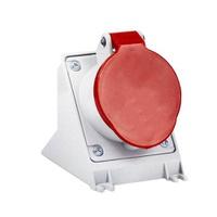 Tomada de Sobrepor 3P + T 16A Vermelha N4006 Stec - Jabu Elétrica, Hidráulica e Iluminação