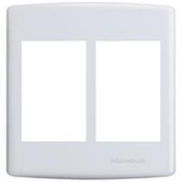 Placa 4x4 para 3 + 3 Módulos Adjacentes 6433 Siena... - Jabu Elétrica, Hidráulica e Iluminação