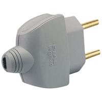 Plugue Residencial Monobloco com Saída Axial 2P 10... - Jabu Elétrica, Hidráulica e Iluminação