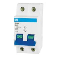 Disjuntor Bipolar 63A WEG - Jabu Elétrica, Hidráulica e Iluminação