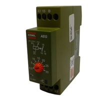 Temporizador de Pulso / Retardo 30SEG AEG 220V Coe... - Jabu Elétrica, Hidráulica e Iluminação