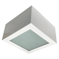 Plafon Quadrado Sobrepor Aço Carbono 15x15cm Para ... - Jabu Elétrica, Hidráulica e Iluminação