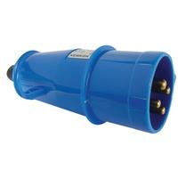 Plugue 3P+T 63A 200/250V Azul N4579 Steck - Jabu Elétrica, Hidráulica e Iluminação