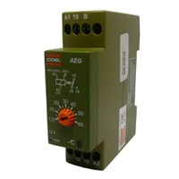 Temporizador de Pulso / Retardo 60MIN AEG 220V Coe... - Jabu Elétrica, Hidráulica e Iluminação