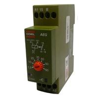Temporizador de Pulso / Retardo 60SEG AEG 220V Coe... - Jabu Elétrica, Hidráulica e Iluminação