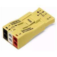Conector Emenda para 3 polos 873-903 Wago - Jabu Elétrica, Hidráulica e Iluminação