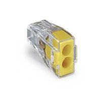 Conector Emenda para 2 polos 773-102 Wago - Jabu Elétrica, Hidráulica e Iluminação