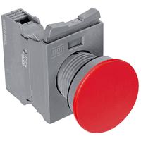 Botão De Emergência Cogumelo 1nf Vermelho - Weg - Jabu Elétrica, Hidráulica e Iluminação