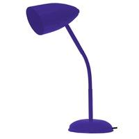Luminária Flexível de Mesa Para 1 Lâmpada E27 Lilá... - Jabu Elétrica, Hidráulica e Iluminação