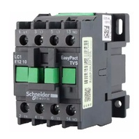 Contator Tripolar 12A 220VCA LC1E1210M7 Schneider - Jabu Elétrica, Hidráulica e Iluminação