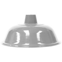 Pendente Ø36cm x 19cm Branco para 1 Lâmpada E27 - Jabu Elétrica, Hidráulica e Iluminação