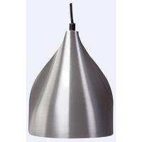 Pendente Ø17cm x 21cm Lixado para 1 Lâmpada E27 - Jabu Elétrica, Hidráulica e Iluminação