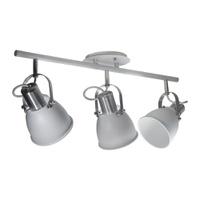 Spot para 3 Lâmpadas E27 Branco Trilho - Jabu Elétrica, Hidráulica e Iluminação