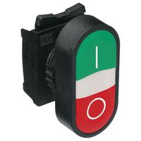 Botão Duplo Faceado 1na + 1nf Vermelho - Weg - Jabu Elétrica, Hidráulica e Iluminação