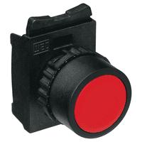 Botão Simples Faceado Vermelho - Weg - Jabu Elétrica, Hidráulica e Iluminação