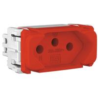 Tomada 2p + t 20a Vermelho Composé - Weg - Jabu Elétrica, Hidráulica e Iluminação