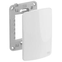 Placa 4x2 Cega Com Suporte Composé Branco - Weg - Jabu Elétrica, Hidráulica e Iluminação