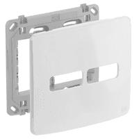 Placa 4x4 Para 2 Módulos Separados Com Suporte Com... - Jabu Elétrica, Hidráulica e Iluminação