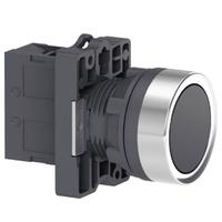 Botão 22mm Plástico a Impulsão 1NA Preto XA2EA21 S... - Jabu Elétrica, Hidráulica e Iluminação