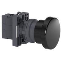 Botão 22mm Plástico Soco a Impulsão D40mm 1NA Pret... - Jabu Elétrica, Hidráulica e Iluminação