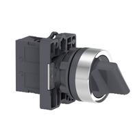 Comutador 22mm Plástico Manopla Curta 2 Posições F... - Jabu Elétrica, Hidráulica e Iluminação