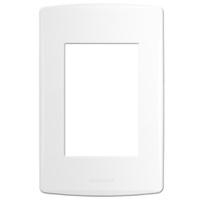 Placa 4x2 com Suporte para 3 Módulos 85092 Bianco ... - Jabu Elétrica, Hidráulica e Iluminação