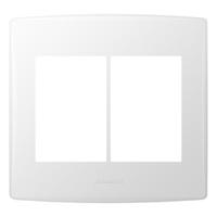 Placa 4x4 com Suporte para 6 Módulos 85096 Bianco ... - Jabu Elétrica, Hidráulica e Iluminação