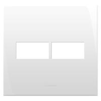 Placa 4x4 com Suporte para 2 Módulos 85004 Inova P... - Jabu Elétrica, Hidráulica e Iluminação