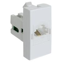 Tomada Telefone RJ11 85023 Bianco / Inova Pró Alum... - Jabu Elétrica, Hidráulica e Iluminação