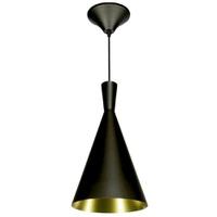 Pendente 860 Ø19cm Para 1 Lâmpada E27 Preto(extern... - Jabu Elétrica, Hidráulica e Iluminação