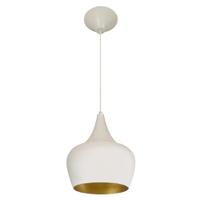 Pendente 862 Ø25cm Para 1 Lâmpada E27 Branco(exter... - Jabu Elétrica, Hidráulica e Iluminação