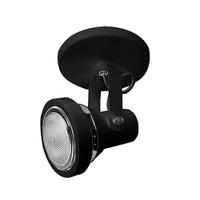 Spot para 1 Lâmpada PAR20 Preto Base - Jabu Elétrica, Hidráulica e Iluminação