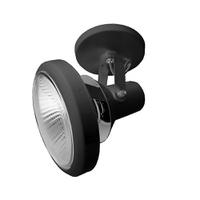 Spot para 1 Lâmpada PAR38 Preto Base - Jabu Elétrica, Hidráulica e Iluminação