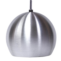 Pendente Esférico Pequeno Ø 12cm Para 1 Lâmpada E2... - Jabu Elétrica, Hidráulica e Iluminação
