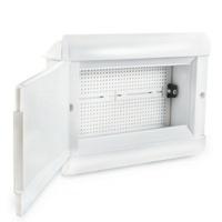 Quadro VDI de Embutir 180X250X60mm Branco SCM1825V... - Jabu Elétrica, Hidráulica e Iluminação
