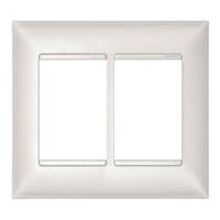 Placa 4x4 para 3+3 Módulos 618516PE PialPlus+ Pial - Jabu Elétrica, Hidráulica e Iluminação
