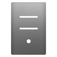 Placa 4x2 com Suporte para 2 Interruptores Horizon... - Jabu Elétrica, Hidráulica e Iluminação