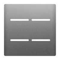 Placa 4x4 com Suporte para 4 Interruptores AC1500/... - Jabu Elétrica, Hidráulica e Iluminação