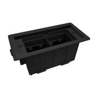 Mini Caixa de Embutir ABS 4 Blocos Facility Dutote... - Jabu Elétrica, Hidráulica e Iluminação