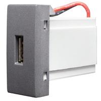 Tomada USB 85469 Grafite Inova Pró Class Alumbra - Jabu Elétrica, Hidráulica e Iluminação