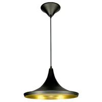 Pendente 861 Ø36cm Para 1 Lâmpada E27 Preto(extern... - Jabu Elétrica, Hidráulica e Iluminação