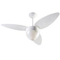 Ventilador de Teto Aires 3 Pás Branco para 2 Lâmpa... - Jabu Elétrica, Hidráulica e Iluminação