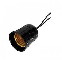 Porta Lâmpada E-27 com Rabicho Ilumi - Jabu Elétrica, Hidráulica e Iluminação