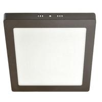 Painel / Plafon de Led Slim Quadrado de Sobrepor 3... - Jabu Elétrica, Hidráulica e Iluminação